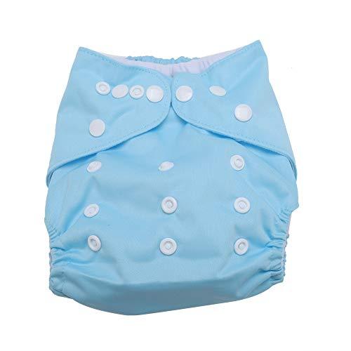 Baby Tuch Tasche Windel Atmungsaktiv Wasserdicht Windelhosen Einstellbar Super Saugfähig Unterwäsche Hosen für Baby Kleinkinder(#3)