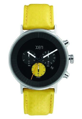 XEN Herren Chronograph gelb XQ0202