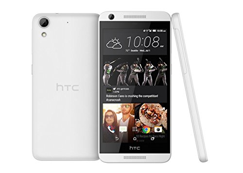 "HTC Desire 626s 5"" HD Display GSM Unlocked Android Smartphone w/ 8MP Camera and HTC Blink, White"