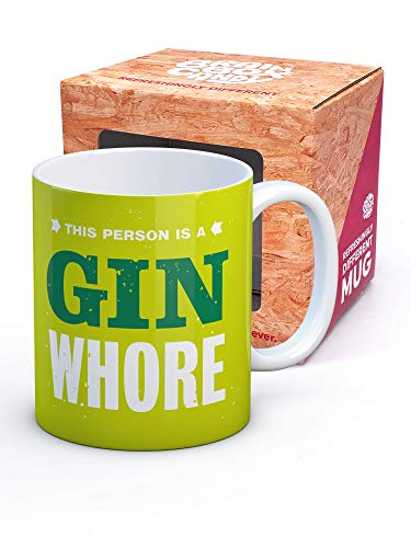 This Person is a Gin Whore Mug