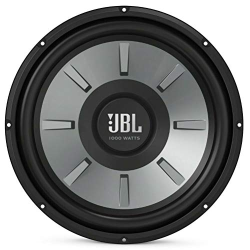 1 subwoofer Compatible con JBL Stage 1210 30,00 cm 300 mm 12' Bobina Simple 2' 4 ohmios 250 vatios rms 1000 vatios máx para Tapa Maletero Coche spl, 1 Pieza