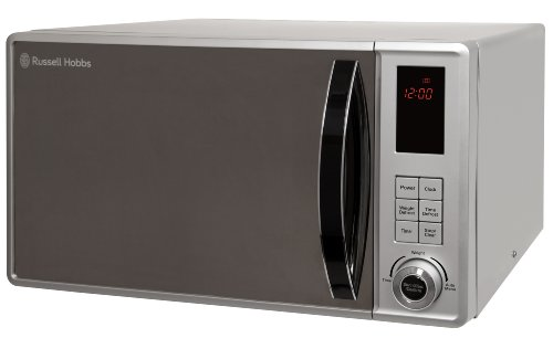 Russell Hobbs RHM2362S 23L Microwave, 800W, Auto Defrost, Silver