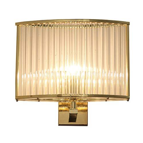 Wandlampen Nordic postmoderne luxe kristalglas wandlampen slaapkamer gang bedlampje spiegel schijnwerper decoratie