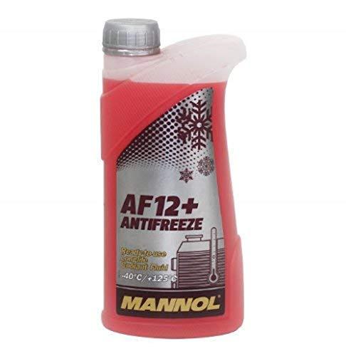 MANNOL 15718400100MN Longlife Antifreeze AF12+ -40 Kühlerfrostschutz Kühlmittel 1L 157696