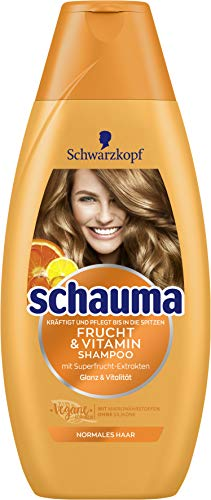 SCHWARZKOPF SCHAUMA Shampoo Frucht & Vitamin, 1er Pack (1 x 400 ml)