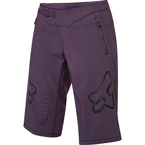 Fox Racing Damen Defend Shorts, Dunkelviolett, Größe XL