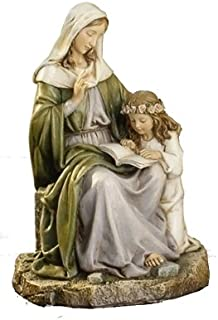 Joseph Studio Saint Anne with Mary Religious Renaissance Figurine 7