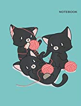 Notebook: Decomposition notebook cat, College-Ruled Notebook for student, 110 Pages, 8.5