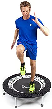 Maximus Pro USA Home Gym Rebounder Mini Trampoline with Handle Bar