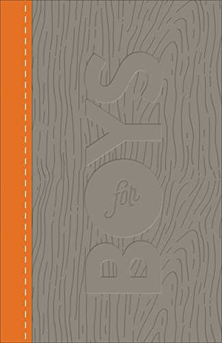 Compare Textbook Prices for Study Bible for Boys: Christian Standard Bible, Leathertouch, Charcoal/Orange Lea Edition ISBN 9780801073601 by Richards, Larry