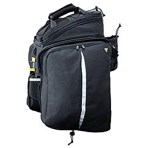 TOPEAK MTX Trunk Bag Dxp with Rigid Molded Panels Alforja, Sin género, Black, Talla Única