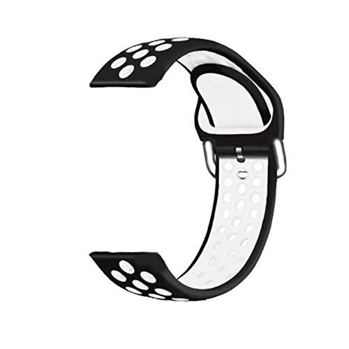 Banda de Reloj de Silicona de 20 mm de Correa para Huami Amazfit GTS 2 Smart Muñequera Reemplazo de la Brazalete de la Pulsera Accesorios de instalación rápida (Color : C, Size : For Amazfit GTS 2)