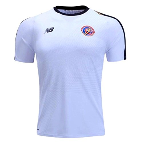 New Balance Costa Rica Away Soccer Mens Jersey FIFA World Cup Russia 2018 (L) White