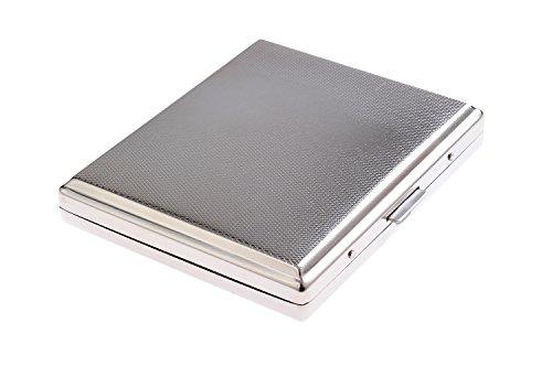 Étui à Cigarettes Fait en Acier Inoxydable de Haute qualité, Design élégant, pour 18 Cigarettes, 784-03