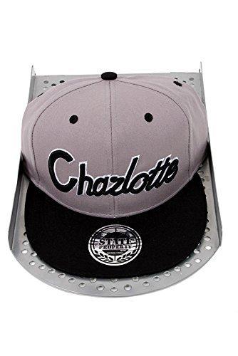 Hip Hop Caps - Casquette de Baseball - Homme - Multicolore - Gris/noir - Taille unique