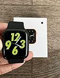 Mobirite Series5 Lite 44mm Smartwatch - Bluetooth Smart Watch (Black)