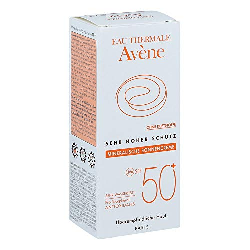 AVENE Sonnencreme SPF 50+ mineralisch 2010 50 ml Creme