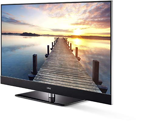 Metz MICOS 55 UHD Twin TY61 Fernseher 55 Zoll 4K Smart TV USB-Aufnahme EEK: A