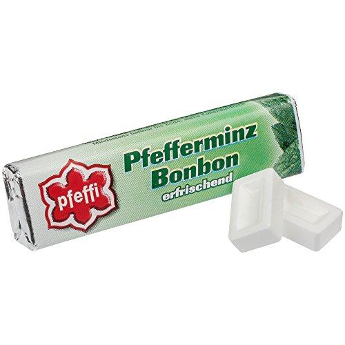 Pfeffi - Pfefferminzbonbon der Marke Pfeffi - 5 Stangen je 10g