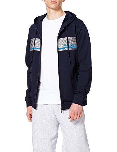 BOSS Herren Authentic Jacket H Kapuzenpullover, Dark Blue403, XXL