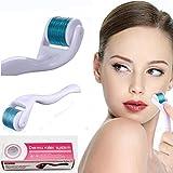 Premium Facial Derma Roller Kit 0.30mm - Microneedle Roller...