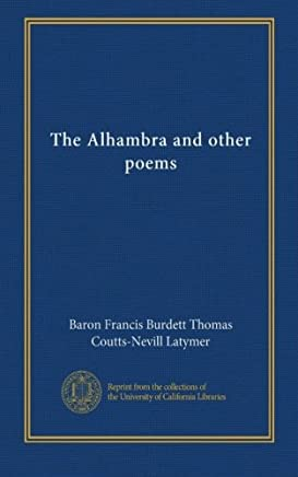 The Alhambra and other poems