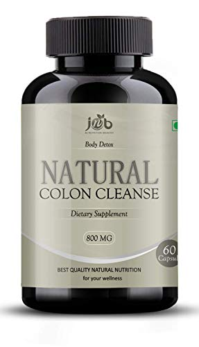 JNB Pure Detox & Natural Colon Cleanse for Liver Detox and Cleanse ~ Weight Loss 60 VEG capsules