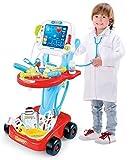 Quickdraw Enfants Docteurs Set Médical Set De Jeux Chariot Jeux De Rôle...