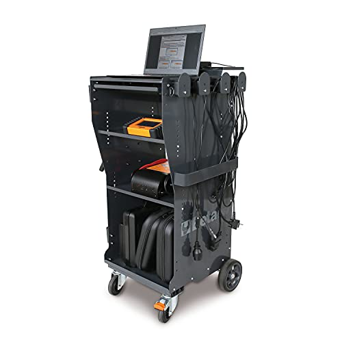 Carro Para Movimentação De Scanner E Ferramentas De Diagnósticos Automotivo, Beta Cx49-g Beta Cinza