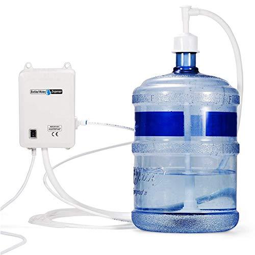 VEVOR Sistema de Agua Embotellada 30 PSI Bomba de Agua Embotellada de 1 Galón Bomba de Dispensador de Agua Embotellada Dispensador de Agua Eléctrica Sistema de Agua Embotellada Botella de Bomba