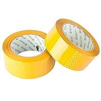 Toyvianシーリングパッケージテープクリア梱包箱梱包箱テープ2ロール(ベージュ)
