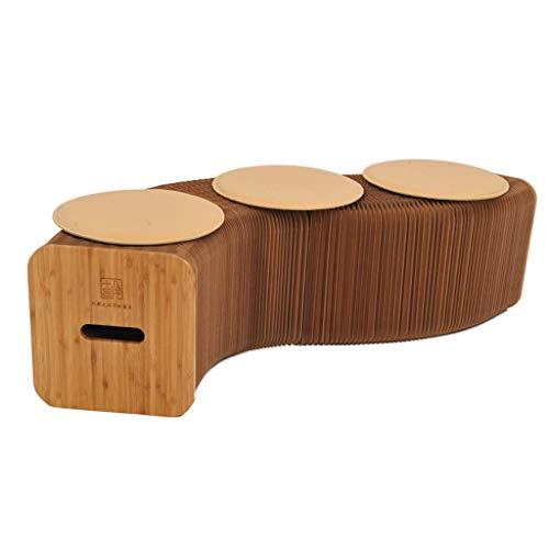 JSMY Taburete Plegable,sofá Plegable,mesas y sillas de Papel,hogar,Ocio,Sala de Estar,Estudio,Muebles creativos,Taburete de órgano