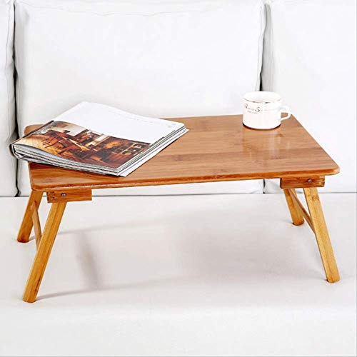 Foldable Portable Bamboo Computer Stand Laptop Desk Notebook Desk Laptop Table for Bed Sofa Bed Tray Studying Tables