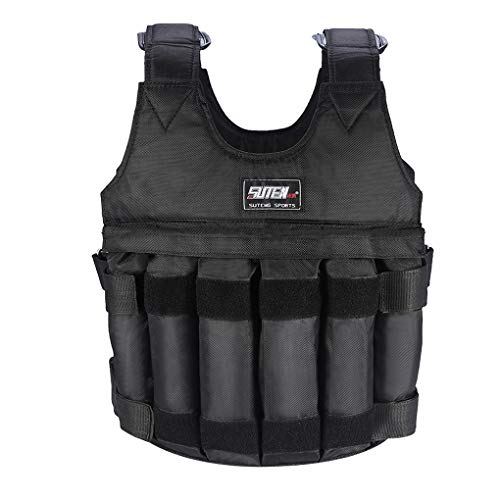 Xinjieda 1-20kg Women Men Fitness Sports Weighted Vest Adjustable Workout Exercise Training Weight Bearing Clothes