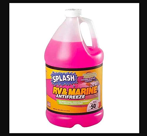 Splash RV/Marine Antifreeze Coolant, 1 gal, RTU for All Heavy Duty Engines Mfr #: 619527-G35