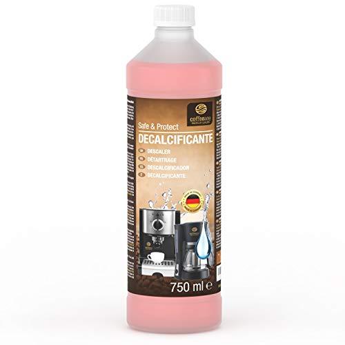 Decalcificante liquido Coffeeano da 750ml per macchine da caffè superautomatiche e macchine da caffè. Compatibile con ogni marca. Incl. eBook gratis