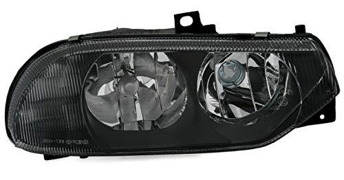 AD Tuning Phare Depo en verre transparent noir halogène H1 H7 pour côté droit