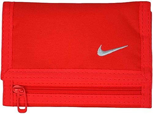 Nike Basic Billetero, Rojo/Blanco, S