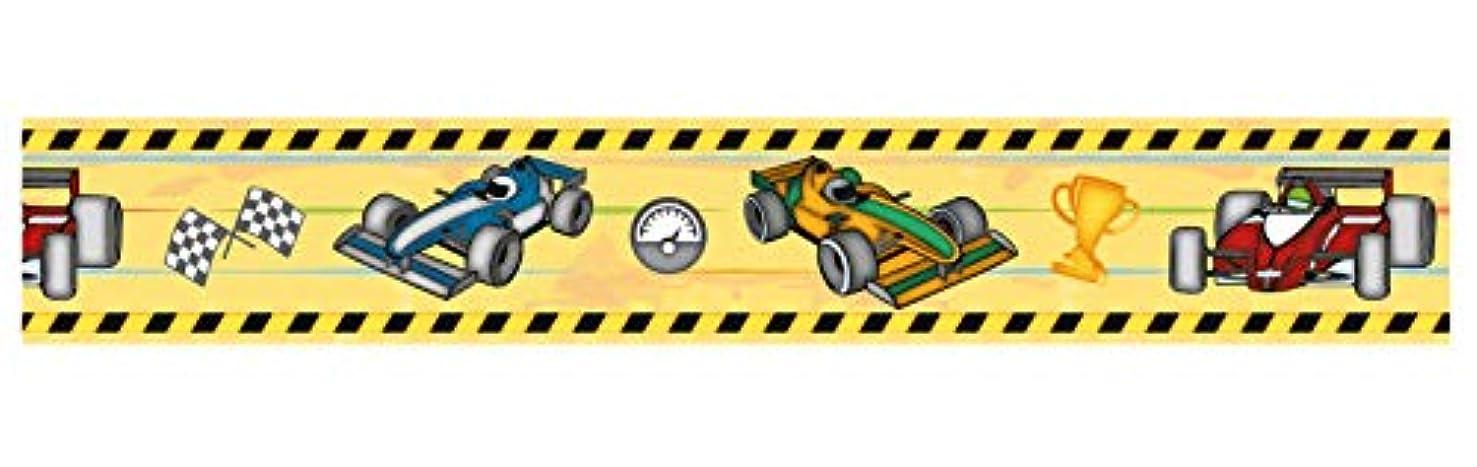 Ursus 59090023 Masking Tape, Approx. 30mm x 10m Formula 1 Colorful