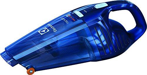 Electrolux Aspirador de Mano Rápido ZB5104WDB con batería de 4.8V y función líquidos y sólidos, 0.5 litros, Azul