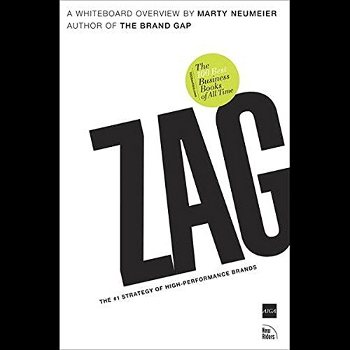 ZAG: The Number-One Strategy of High Performance Brands (Audio Download):  Marty Neumeier, Marty Neumeier, Audible Studios: Amazon.in: Books