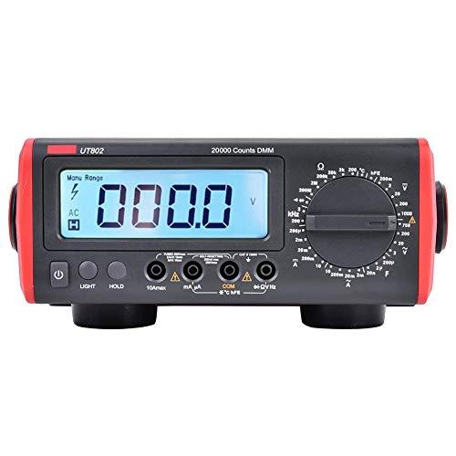Multímetro digital, herramienta de laboratorio para universidades 100-240V 19999 capacitancia de medición de(European regulations)