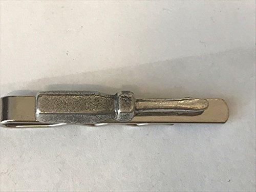 Schraubendreher TG34aus feinem englischen Moderne Zinn auf einer Krawatte Clip (Slide) geschrieben von uns Geschenke für alle 2016von Derbyshire UK