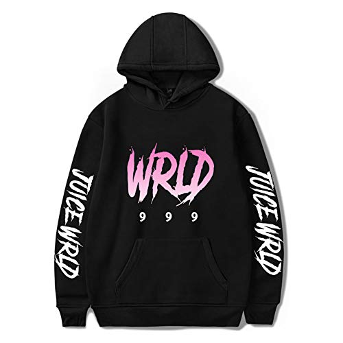 Herren Juice Wrld Hoodie 999 Long Sleeve Hip-Hop Sweatshirt für Damen
