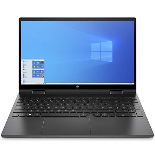 """HP Envy x360 Convertible 15-ee0755ng, Schwarz, AMD Ryzen 5 4500U, 8GB RAM, 512GB SSD, 15.6"""" 1920x1080 FHD, HP 1 Jahr Garantie, deutsche Tastatur + EuroPC-Garantiehilfe, (Renewed)"""