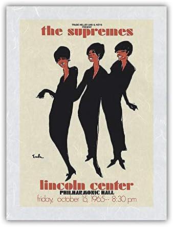 The Supremes 日本全国 送料無料 - 1965 Lincoln Concert Center 豪華な Philharmonic Hall