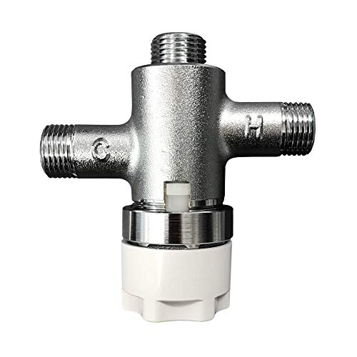 TOTO TLT20 Thermostatic Mixing Valve for ECOPOWER 0.35 GPM Bathroom Sink Faucets, Chrome-TLT20, Polished Chrome