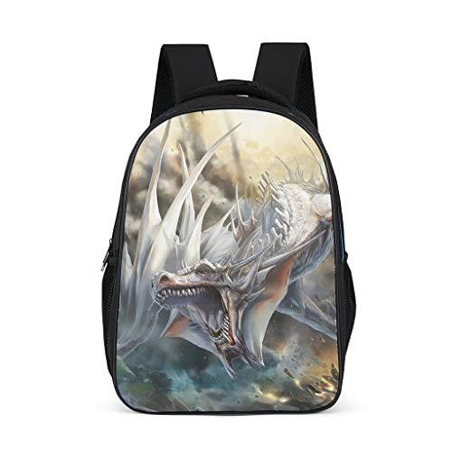 Magic Horse Man Dragon Fantasy Girls Boys Backpacks Printed 3D Exciting School Backpack School Bag Children's Backpacks Fits for Children
