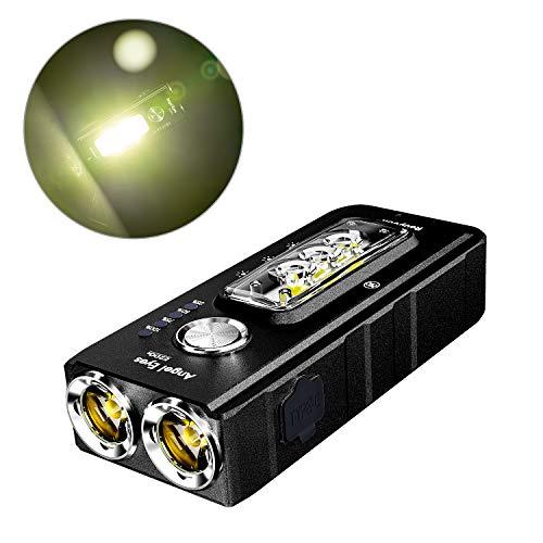 Linterna recargable RovyVon E200S EDC, 1650 lúmenes, carga rápida, linterna LED llavero