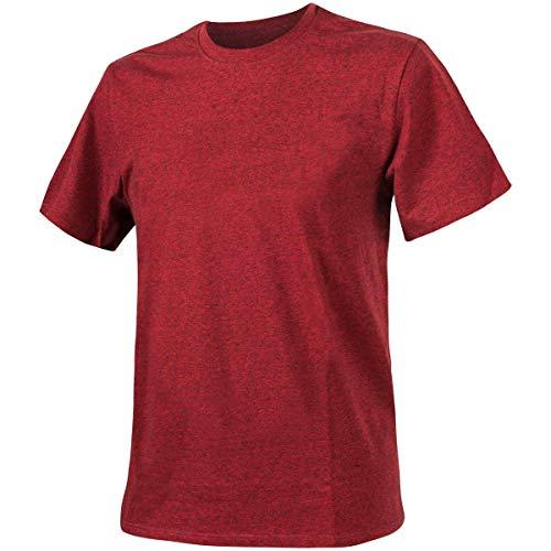 Helikon-Tex Uomo T-Shirt Melange Rosso Taglia L